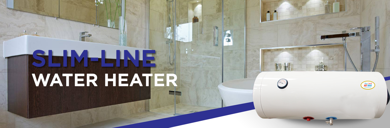 slim line water heater